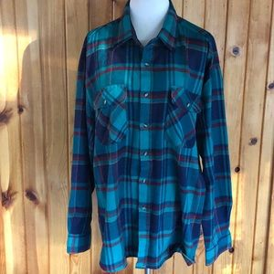 Drygoods Saugatuck Plaid Flannel Button Down Shirt